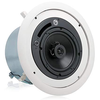 6 in. Enclosed Ceiling Speaker - Set of 2
